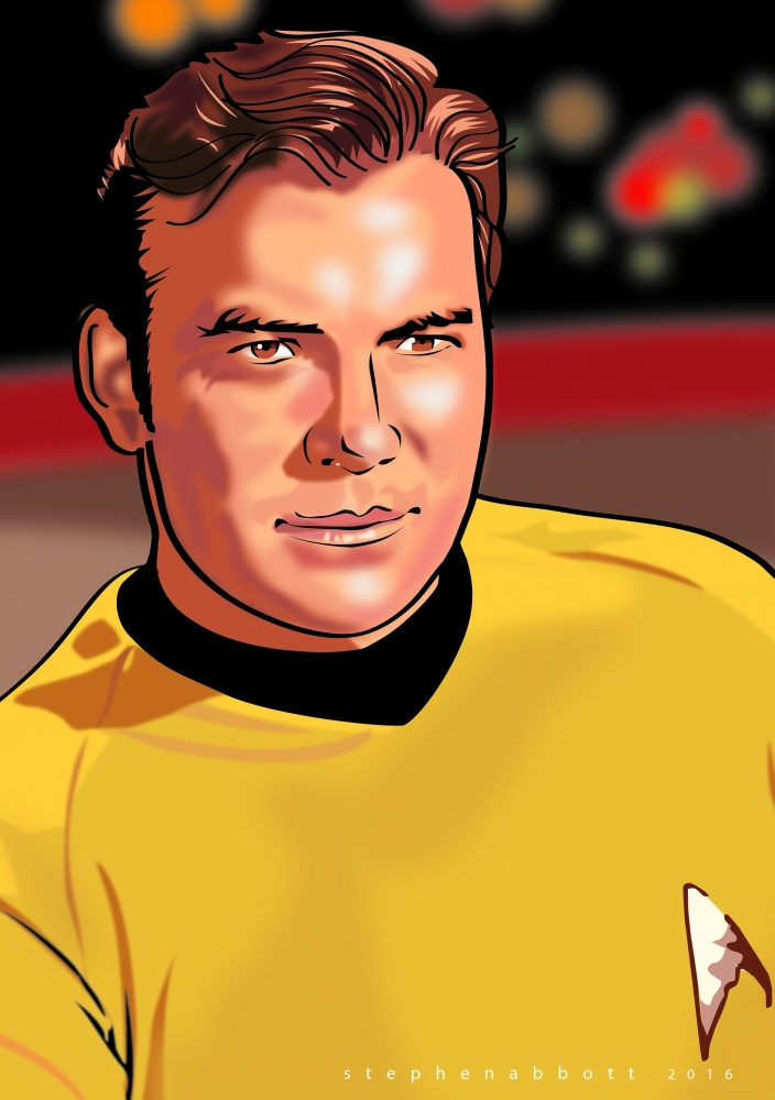 William Shatner by Henstepbatbot